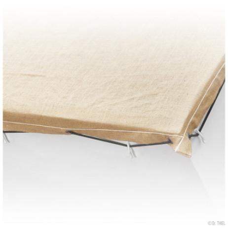99103Natur web detail 500x500 462x462 - Plandeka kontenerowa z tkaniny jutowej 305g / m²