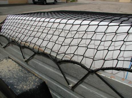 Kunstfasernetz mit Seil 88101 462x346 - Siatka z włókna syntetycznego z linką gumową 45mm